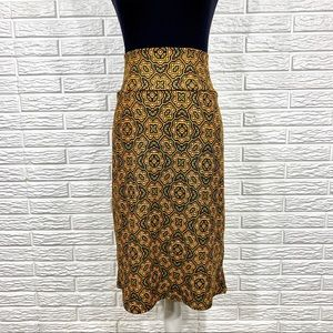 LuLaRoe Skirts - LuLaRoe Multicolored Geometric Cassie Midi Skirt